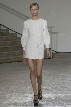 Antonio Berardi Spring 2008 Ready-to-Wear Fashion Show - Natasha Poly