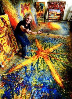 Frans Widerberg etterlater seg et av Norges mest markante kunstnerskap Painters Studio, Art Studios, Artists, Painting, Inspiration, Culture, Art, Biblical Inspiration, Painting Art