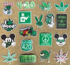 ✩ Check out this list of creative present ideas for people who are into cycling Cannabis, Marijuana Art, Weed Stickers, Laptop Stickers, Laptop Screen Repair, Stoner Art, Weed Art, Laptops For Sale, Green Party