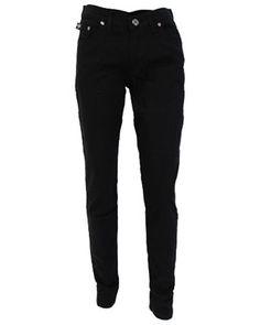 Regular Rise Black Drain Pipe Jeans £33.98