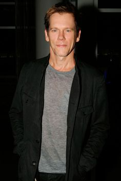 Kevin Bacon    The Following star made an appearance with his composer brother Michael at the Warner Bros. Television party in San Diego.