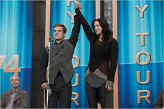 Hunger Games - L'embrasement : Photo Jennifer Lawrence, Josh Hutcherson