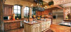 mediterrean kitchen cabinets at home depot | Amish Kitchen Cabinets The Cabinet Makers kitchenhoome Image via