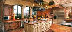 mediterrean kitchen cabinets at home depot | Amish Kitchen Cabinets The Cabinet Makers kitchenhoome Image via