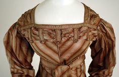 1820–23 Visiting dress American The Met