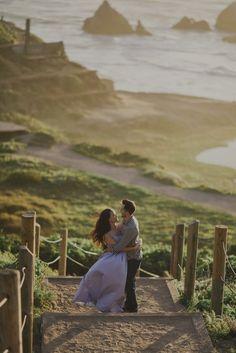 Ethereal Sutro Baths/Land's End Engagement Photos - California Wedding Photographer — The Rowlands