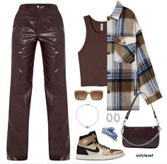 Swag Outfits For Girls, Cute Swag Outfits, Teenager Outfits, Simple Outfits, Stylish Outfits, Min Yoonji, Accesorios Casual, Kpop Fashion Outfits, Business Casual Outfits