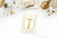 Gold Polka Dot Monogram, Monogram Print,  Poka Dot Art Print, Gold Nursery Print, Anniversary Gift, Valentine's Gift, Bedroom Wall Art by TheDigitalStudio on Etsy https://www.etsy.com/listing/181994462/gold-polka-dot-monogram-monogram-print