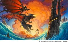 Fantasy art legend Michael Whelan's vision of Deathwing