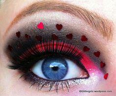 Queen of Heart's, Cupid, & Valentine's #MAKEUP