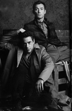 Robert Downey Jr. and Jude Law. °