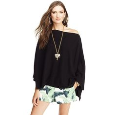Juicy Couture Cashmere Poncho ($218)