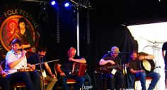 Moher performing at the Doolin Folk Festival  County Clare