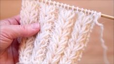 Knitting Help, Knitting Stiches, Knitting Videos, Crochet Stitches Patterns, Knitting Charts, Crochet Videos, Knitting For Beginners, Lace Knitting, Knitting Socks