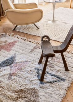 Woolable Rug Tuba L - Hopi Collection - Washable Wool Rugs Blue Carpet Bedroom, Living Room Carpet, Contemporary Bedroom Sets, Lorena Canals, Washable Rugs, Bathroom Rugs, Bathroom Ideas, Round Rugs, Dining Table Chairs