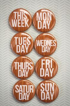 Even After Tuesday On The Calender Its WTF 59mm Lapel Pin Button Badge