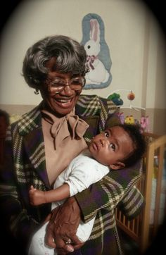 "cartermagazine: ""April 2016 Today In History 'Clara ""Mother"" Hale, humanitarian who founded the Hale House, a sanctuary for drug-addicted and HIV/AIDS-infected babies in Harlem, NY, was born in."