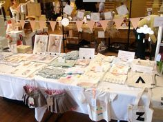 isn't this the cutest sale table ever?