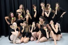 An apple a day keeps the doctor away... SBDC kicks the new year into high gear! Stay healthy dancers :)