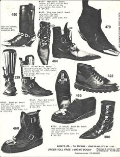 Totally remember seeing these in Star Hits magazine. vintage punk shoe ads from the 80s