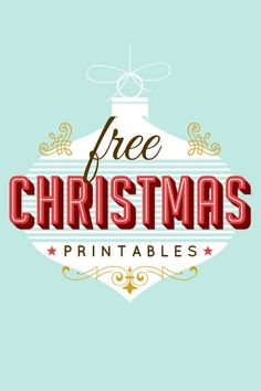 200 Free Christmas Printables - So many fabulous options!