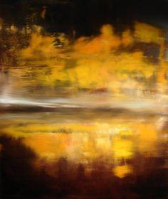 "Saatchi Art Artist: Maurice Sapiro; Oil 2013 Painting ""Last Light, Reflected"""