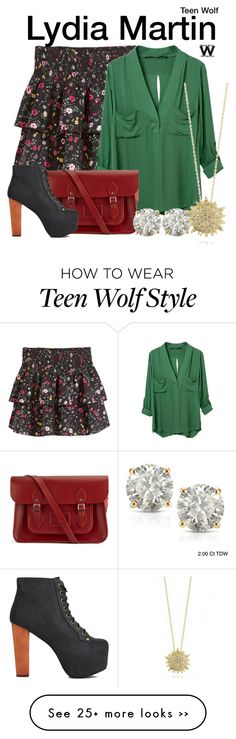 """""""Teen Wolf"""" by wearwhatyouwatch on Polyvore"""