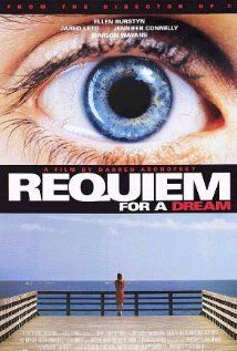 Requiem For a Dream | The movie follows the downfall of four people as both innocent and not-so-innocent use of drugs leads to addiction and independent tragedies. | Starring Jared Leto, Ellen Burstyn. Jennifer Connelly, Marlon Wayans and Christopher McDonald.