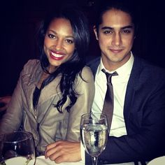 They are so beautiful together :D