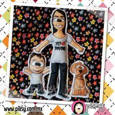 regala un muñeco con su caricatura! caricaturízal@!! www.piksy.com.mx