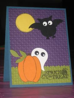 Halloween Punch Art by mommacharles - Cards and Paper Crafts at Splitcoaststampers