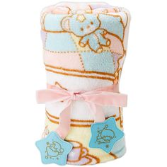 Little Twin Stars Kiki Lala Micro Fleece Throw Blanket Lap Robe Room... ($599) ❤ liked on Polyvore featuring home, children's room and children's bedding