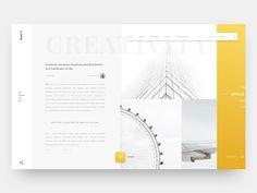 Blog It User Interface