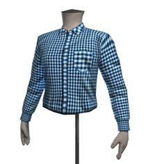 Front Row Jonathan Check Shirt