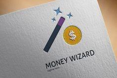 Money Wizard Logo @creativework247