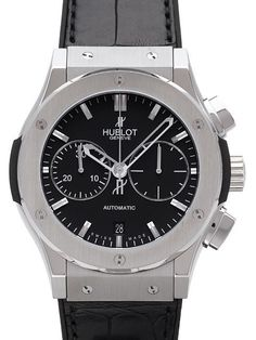 fd3e2c27067 Hublot Classic Fusion Chronograph 521.NX.1170.LR. Marcas De Relógios De Luxo  ...
