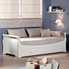 cama madera blanca - Buscar con Google