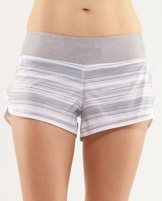 Lululemon Speed Shorts in Twisted Fossil/ Metallic Silver Athletic Outfits, Athletic Wear, Short Twists, Lulu Love, Lululemon Speed Shorts, Super Mom, Outfits For Teens, Fitness Tips, Fossil