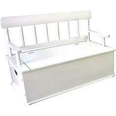 Bon Levels Of Discovery Simply Classic White Storage Bench Seat