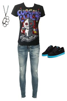 """""""Untitled #242"""" by bloodmoon31 ❤ liked on Polyvore featuring Supra and Dsquared2"""