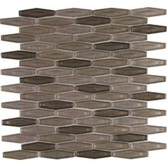 MS International Champagne Estate 12 in. x 12 in. x 6 mm Glass Mesh-Mounted Mosaic Tile GLS-CHAEST6MM at The Home Depot - Mobile