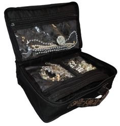 PA14XS - Mini Large Jewellery & Makeup Storage case for Travel.