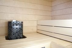 Gloria – Blogit | Pieni talo Helsingissä – Sauna vanerista ja haapapuusta…