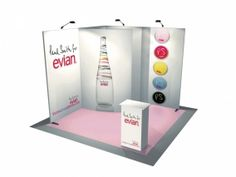 Stand nomade avec 9m² stand transportable-11