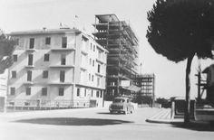 I primi palazzi di viale de Gasperi