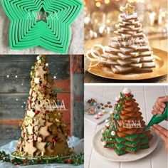 You are going to love this 3D Cookie Christmas Tree Recipe and it deserves centre stage on your holiday table. Watch the video tutorial too.