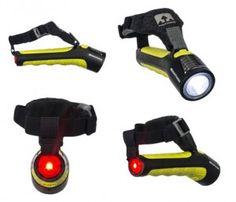 Nathan Zephyr Fire Handheld Runners Flashlight   108 Lumens w/ 3 lighting modes   Run Safe   Fleet Feet Sports - Chicago