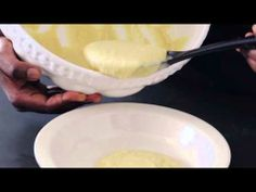 How To Make Lemon Pudding Cooking School, Your Recipe, Pie Dish, Diy Party, Kos, Icing, Lemon, Pudding, Videos