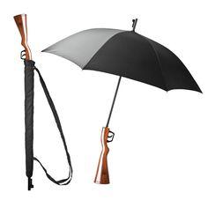 Umbrella Wanted - Geweer paraplu - Balvi - Rifle PLU. Geweer paraplu. Tegen zon of regen. #Musthave