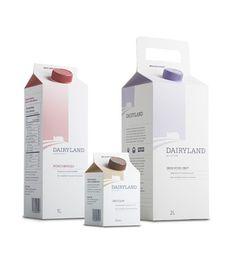 Dairyland milk packaging PD
